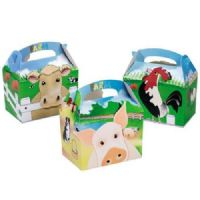 Farm Animals / Farmyard Meal Party Box